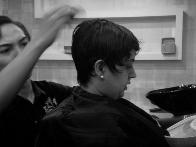 career as a hair stylist